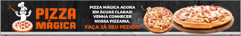 Pizzaria Pizza Mágica Águas Claras